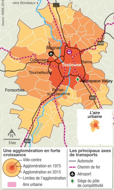 <stamp theme='his-green2'>Doc. 1</stamp> L'attractivité de Toulouse