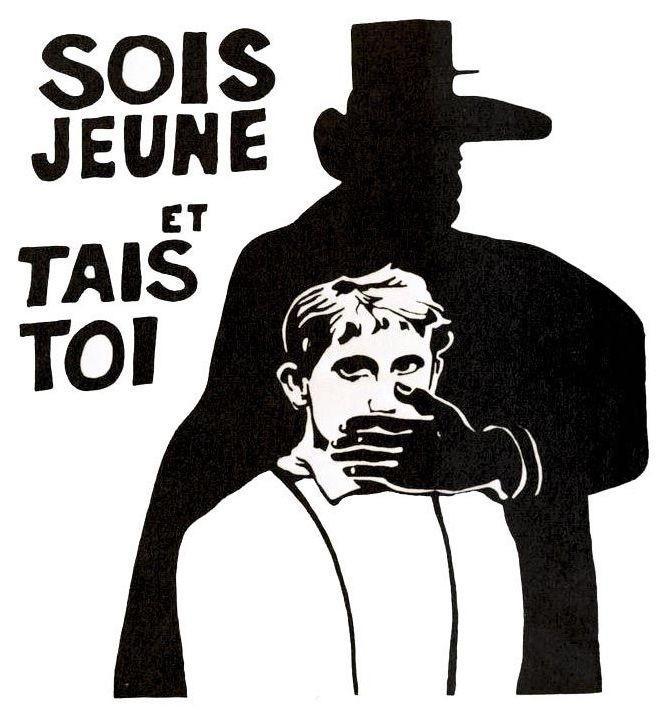 <stamp theme='his-green2'>Doc. 1</stamp> Affiche de Mai 68.