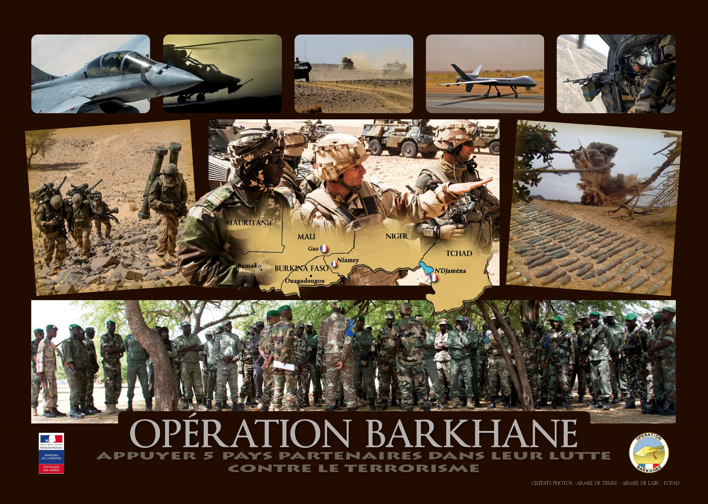<stamp theme='his-green2'>Doc. 4</stamp> Image oficielle de l'opération Barkhane