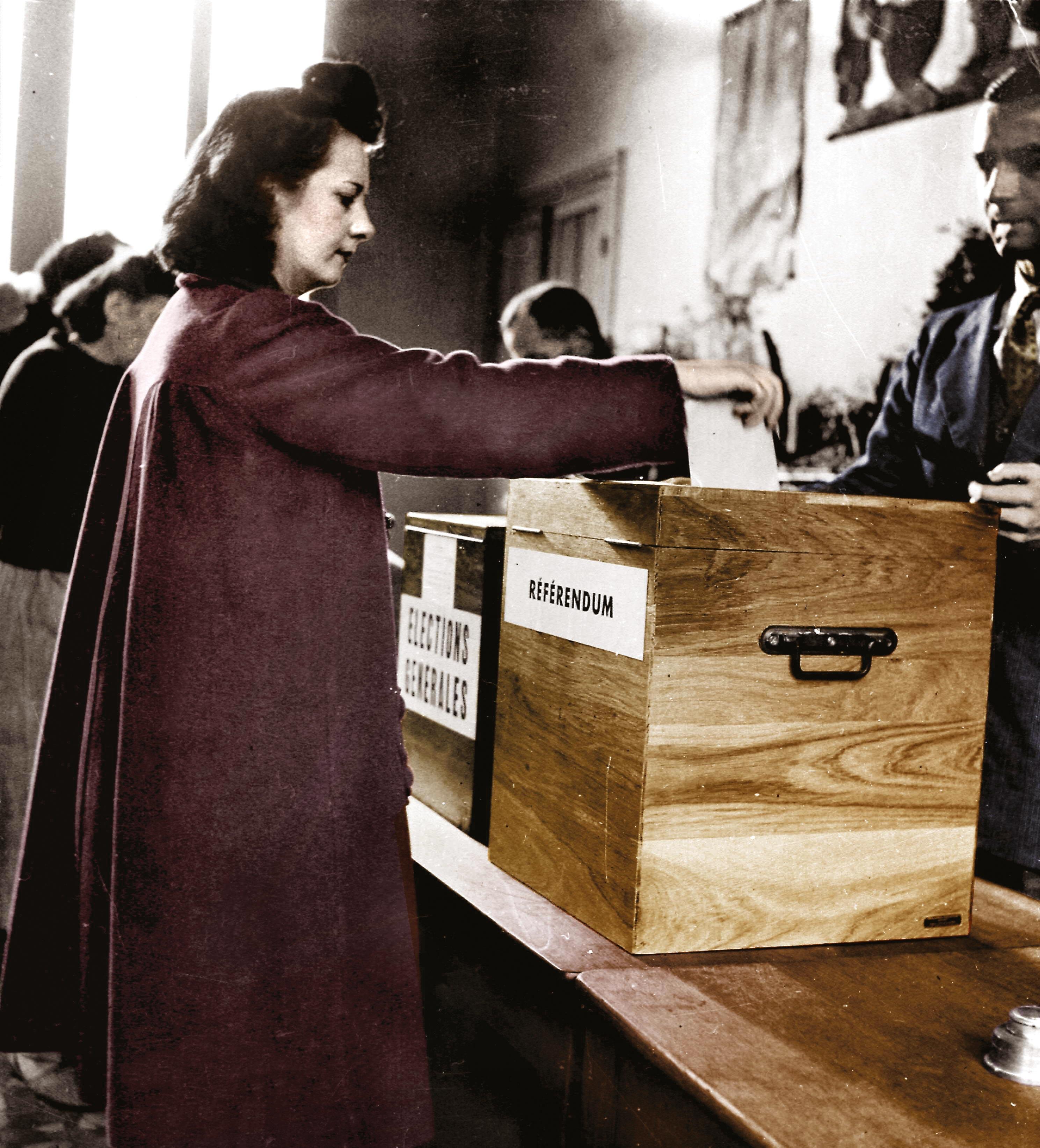 <stamp theme='his-green2'>Doc. 2</stamp> Le droit de vote des femmes