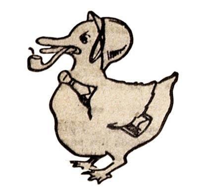 <stamp theme='his-green2'>Doc. 4</stamp> Symboles du journal Le Canard enchainé