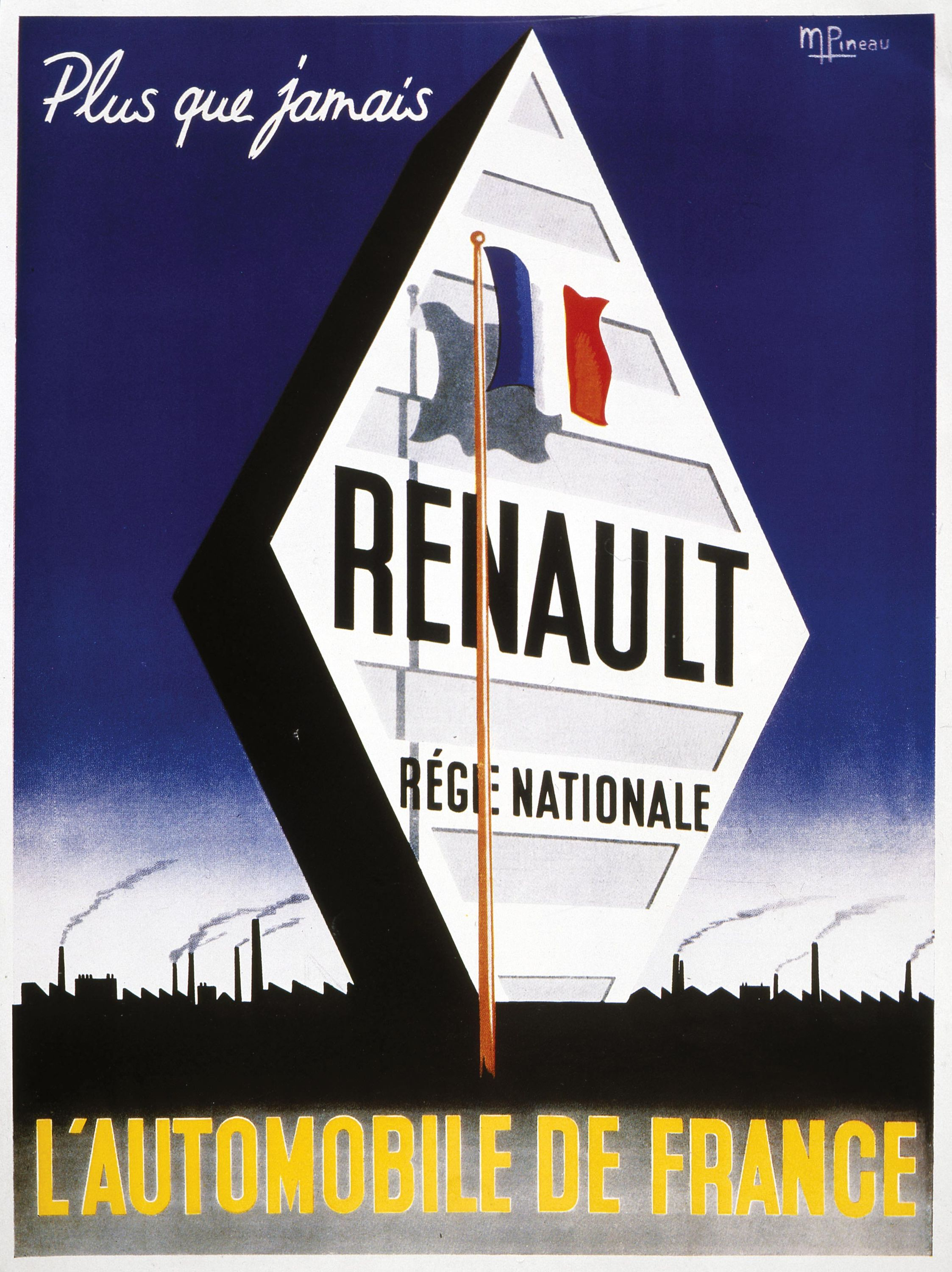 <stamp theme='his-green2'>Doc. 2</stamp> Publicité Renault