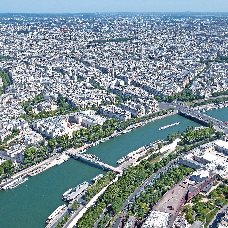 <stamp theme='his-green2'>Doc. 1</stamp> L'urbanisation autour de la Seine.