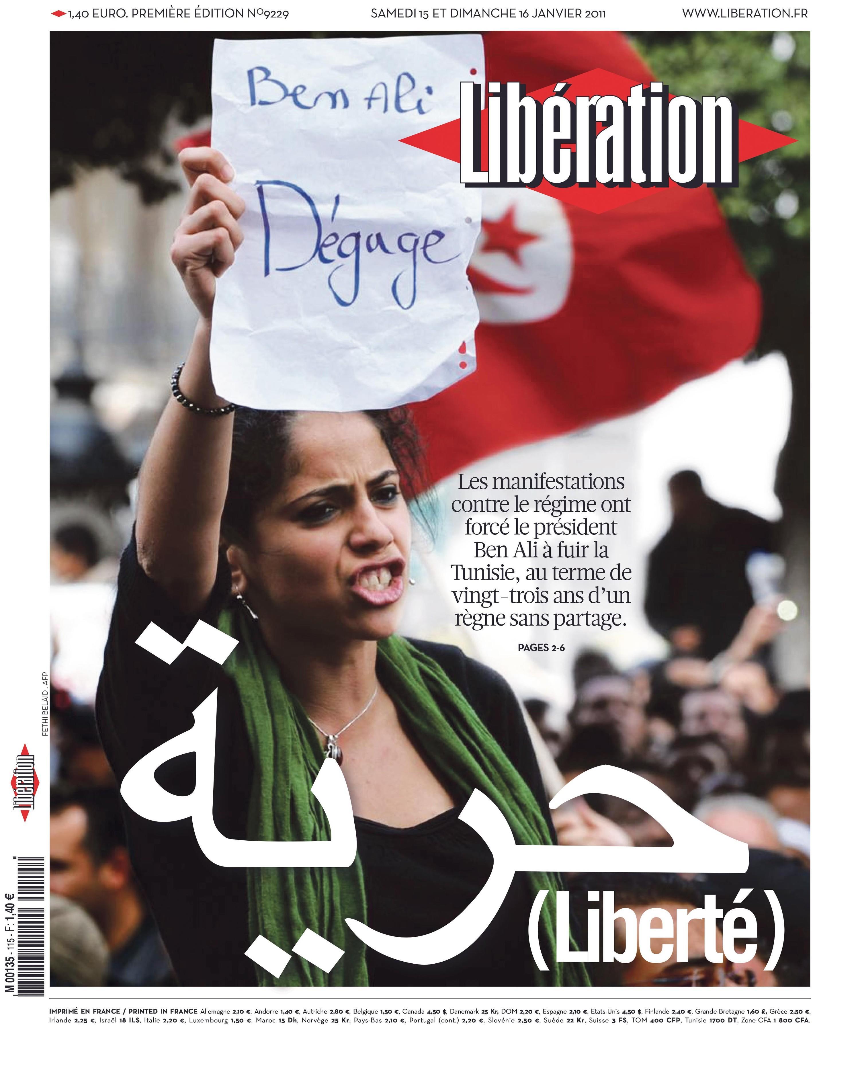 <stamp theme='his-green2'>Doc. 3</stamp> Les «printemps arabes» en Tunisie