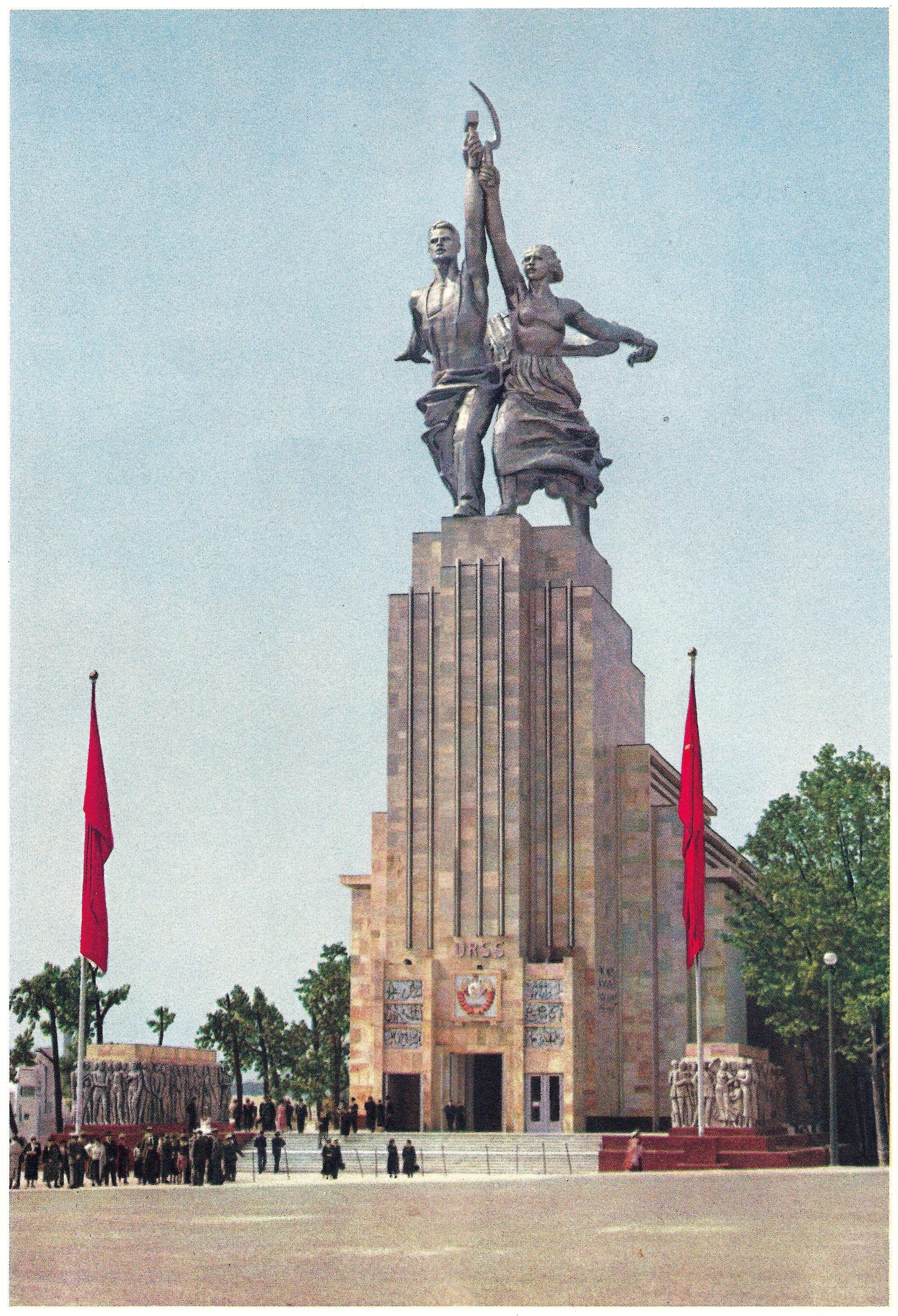 <stamp theme='his-green2'>Doc. 3</stamp> La sculpture en URSS