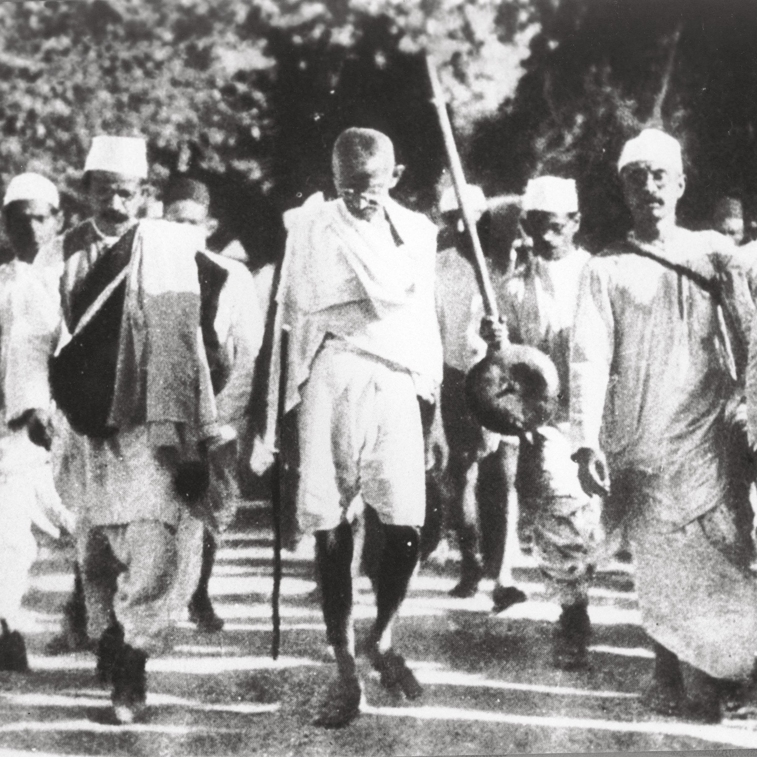 <stamp theme='his-green2'>Doc. 1</stamp> Gandhi (1869-1948)