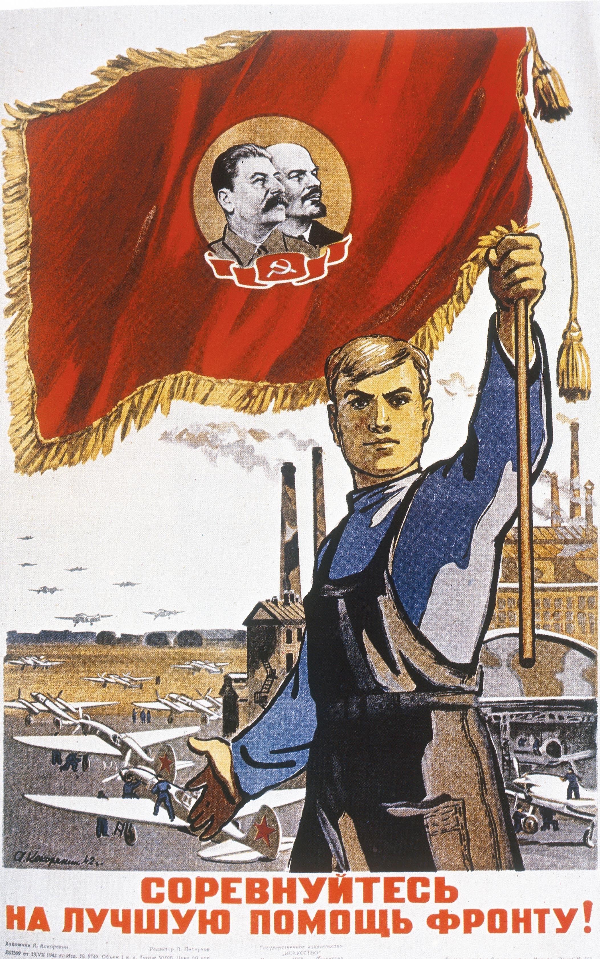 <stamp theme='his-green2'>Doc. 2</stamp> Mobilisation pour l'économie de guerre en URSS