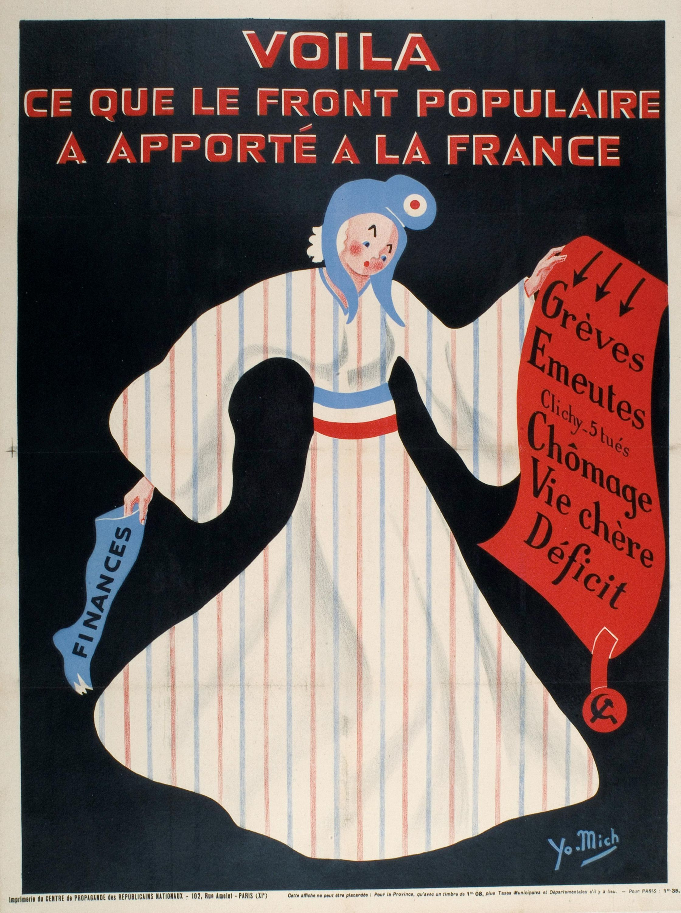 <stamp theme='his-green2'>Doc. 6</stamp> Une critique du Front populaire