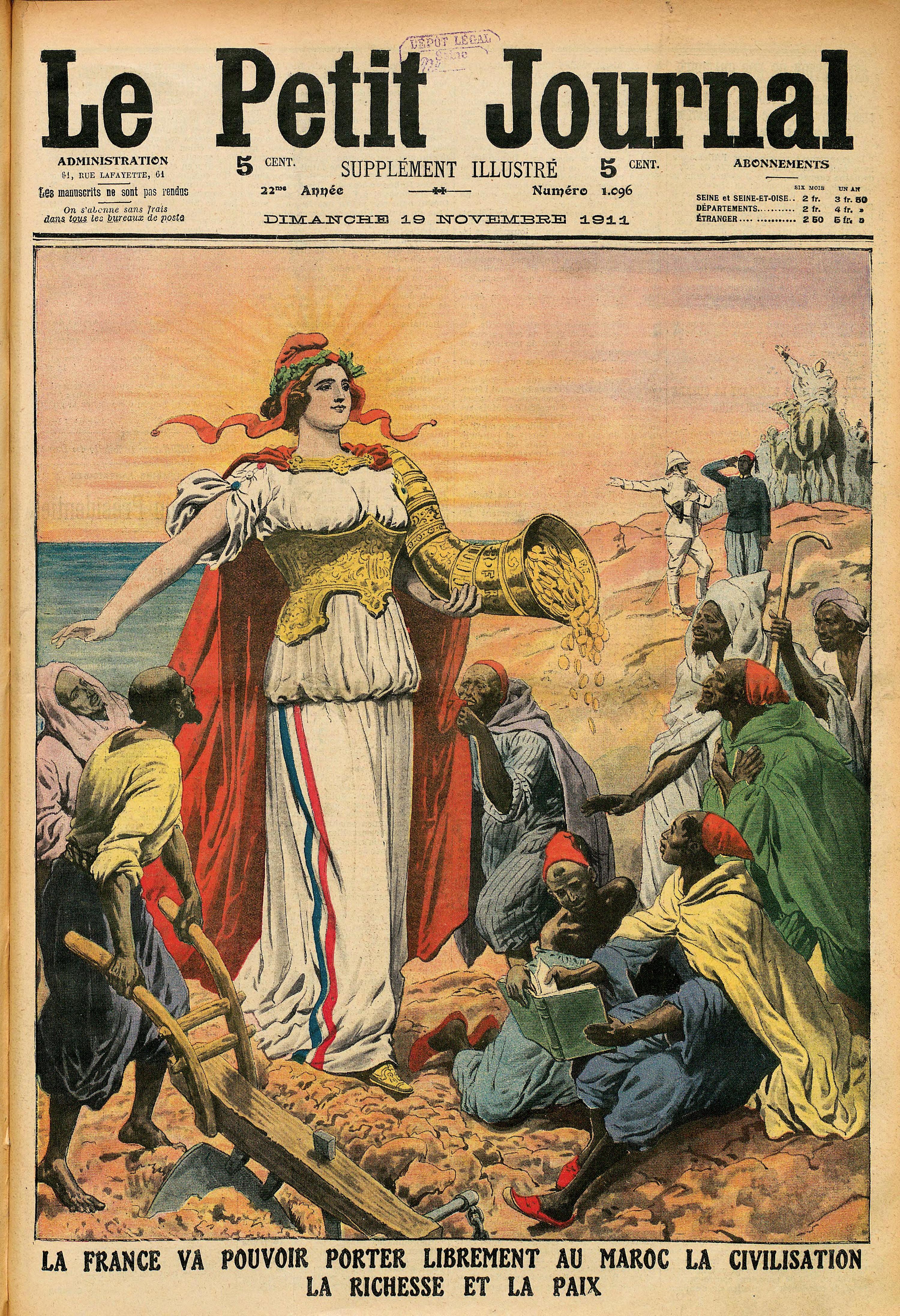 Une du Petit Journal