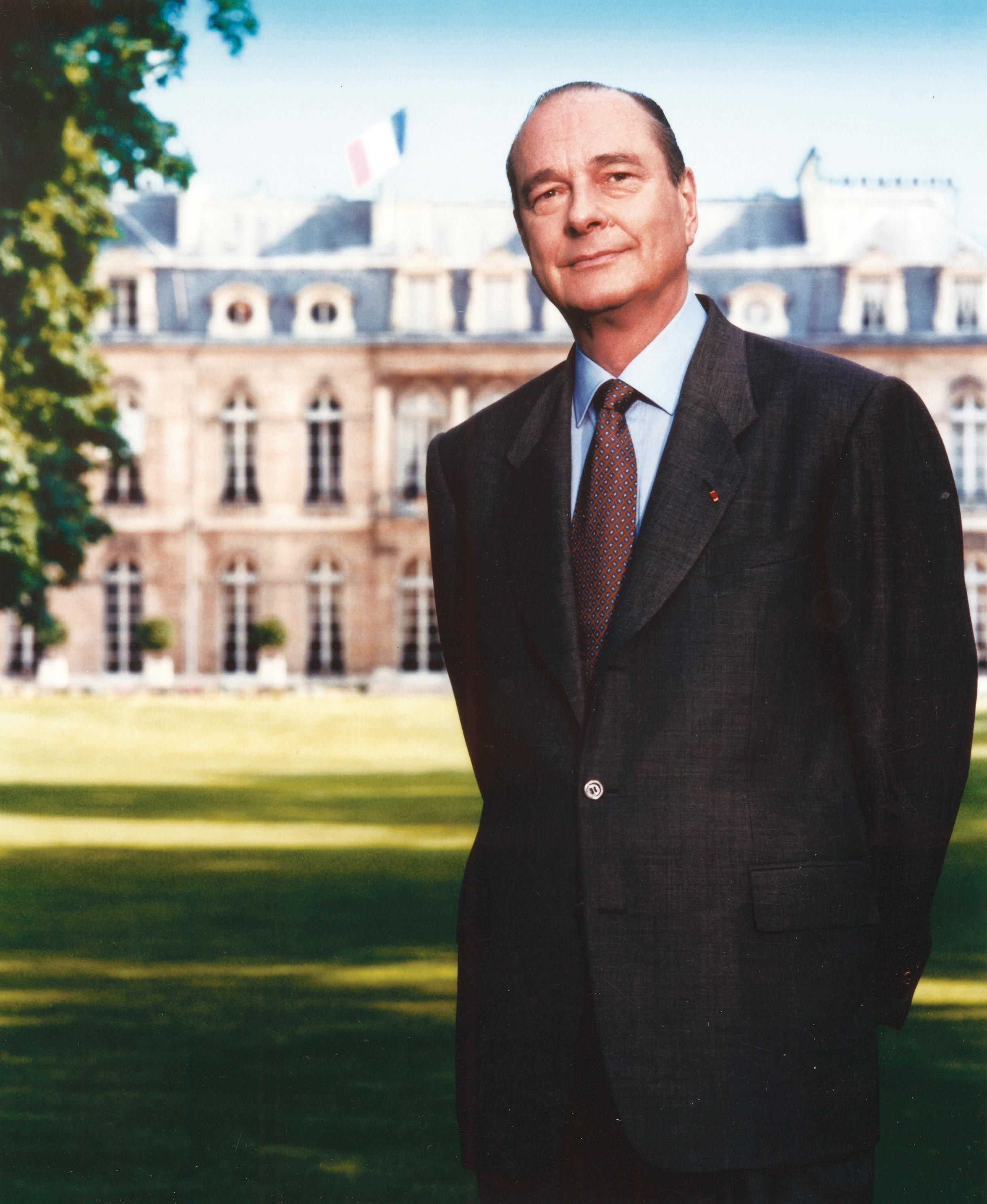 <stamp theme='his-green2'>Doc. 6</stamp> Chirac président
