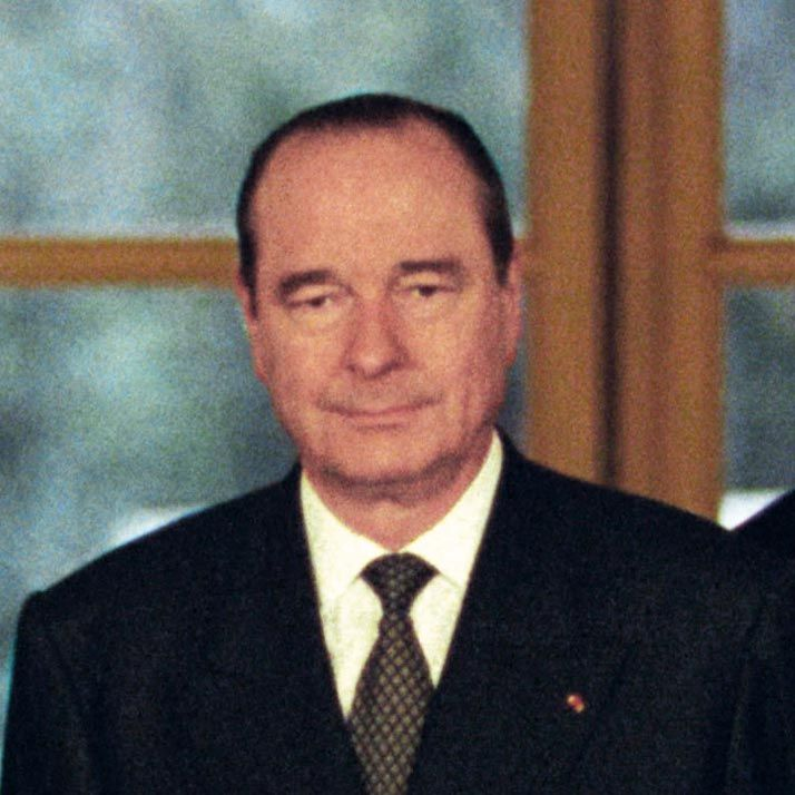 <stamp theme='his-green2'>Doc. 12</stamp> Jacques Chirac (1932-)