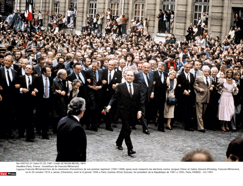 <stamp theme='his-green2'>Doc. 4</stamp> Mitterrand et la victoire de la gauche en mai 1981