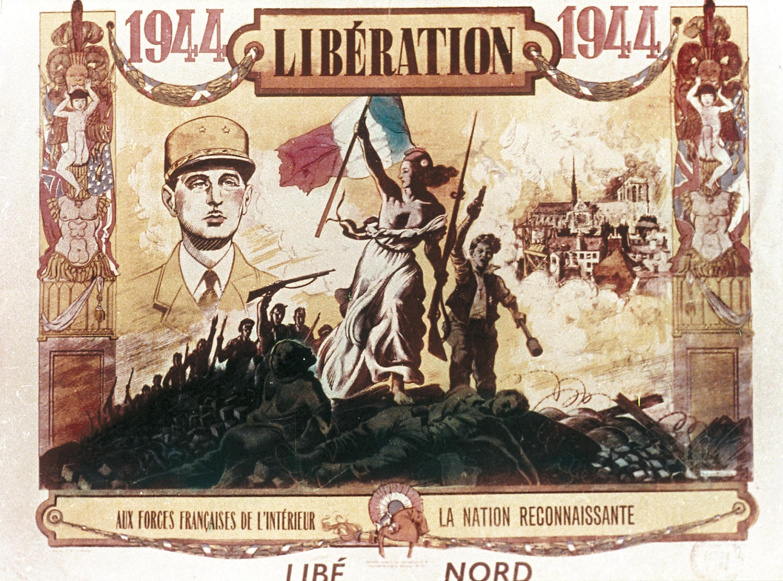 <stamp theme='his-green2'>Doc. 2</stamp> Affiche éditée par le journal résistant Libération-Nord