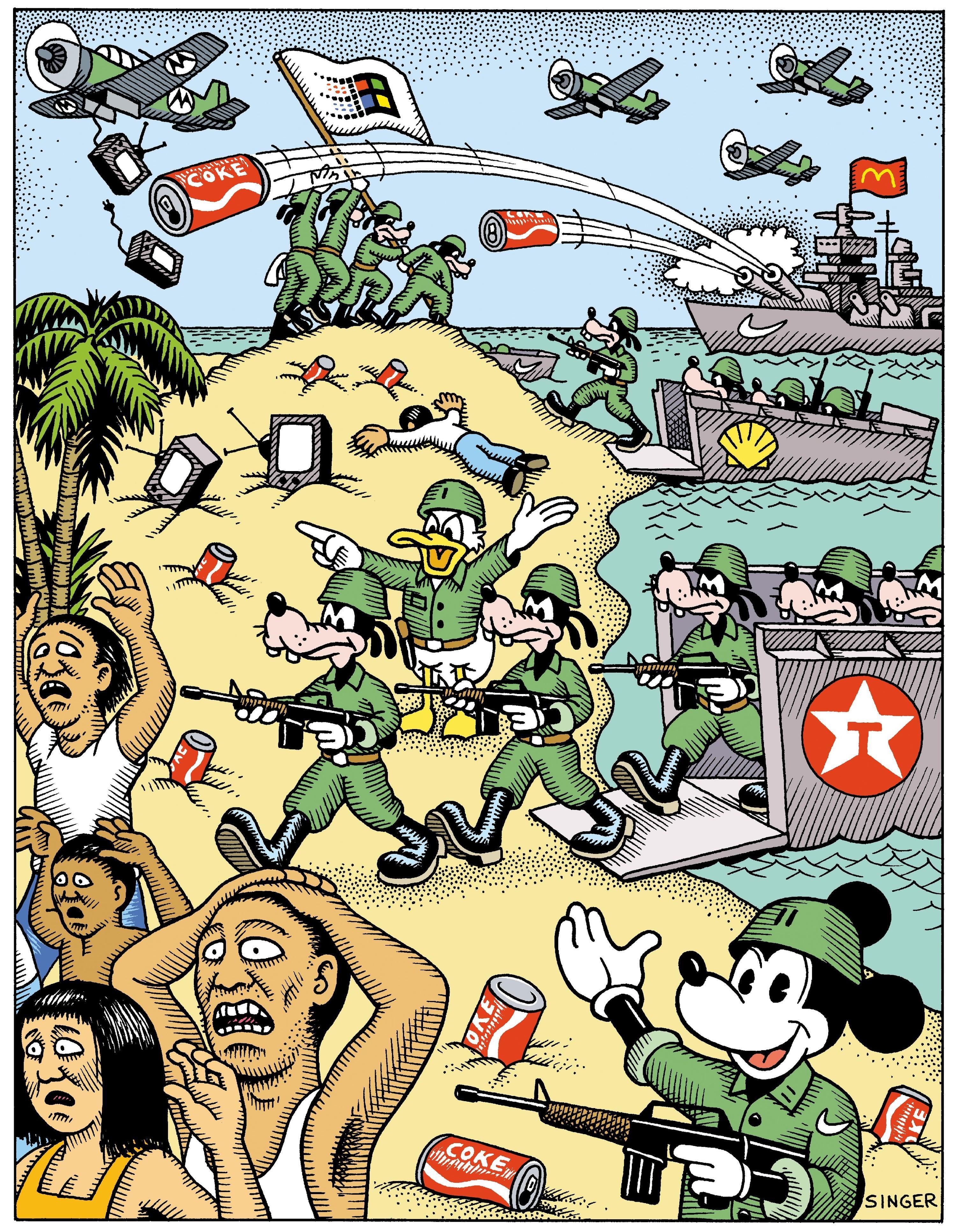 <stamp theme='his-green2'>Doc. 1</stamp> L'impérialisme américain