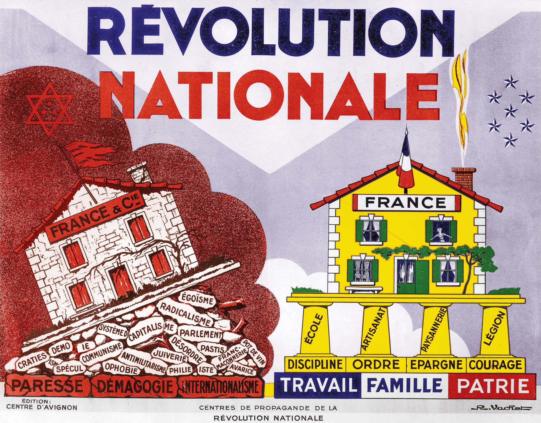 <stamp theme='his-green2'>Doc. 2</stamp> La «Révolution nationale» de Pétain