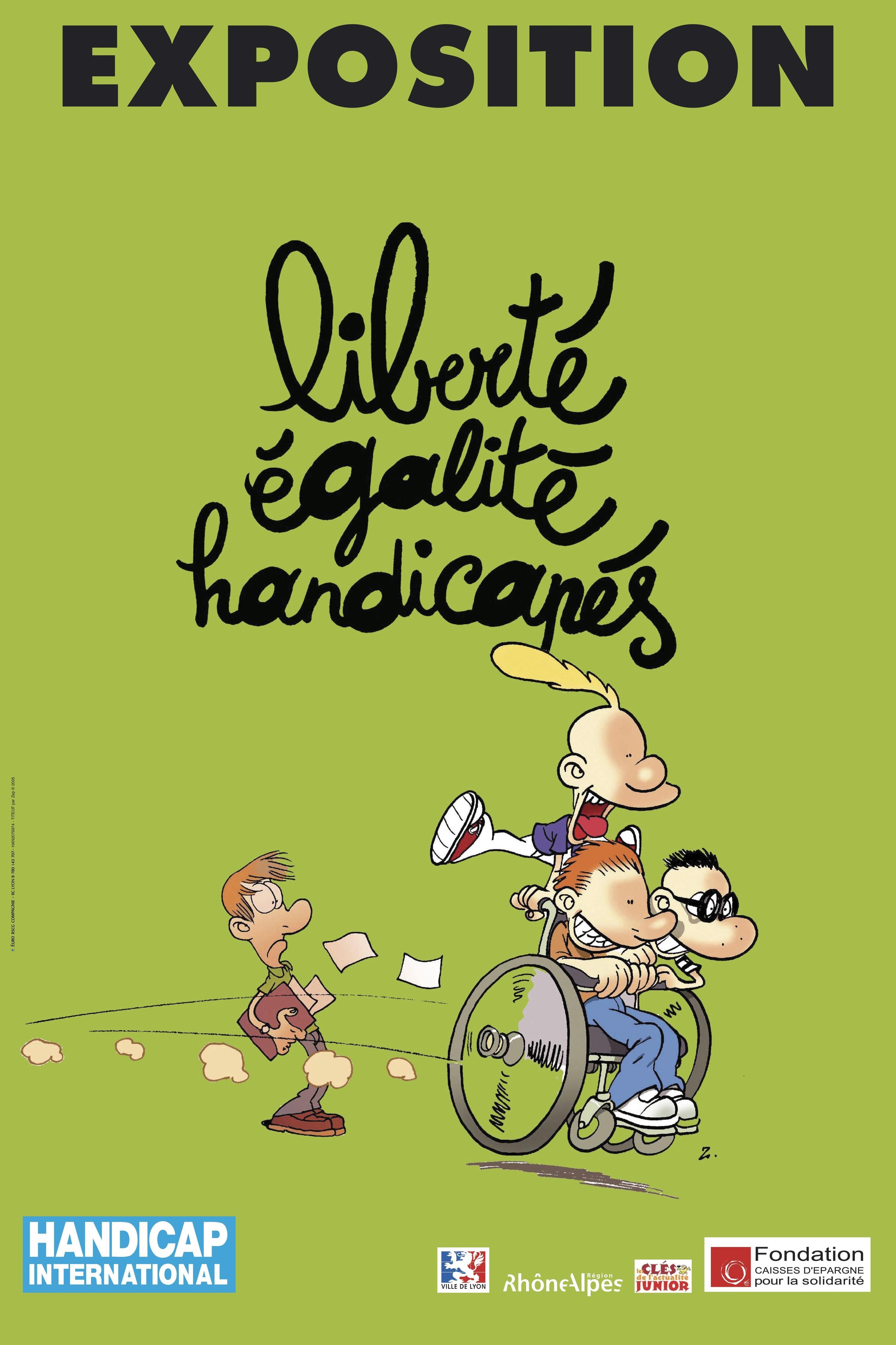 <stamp theme='his-green2'>Doc. 3</stamp> Affiche de Handicap International