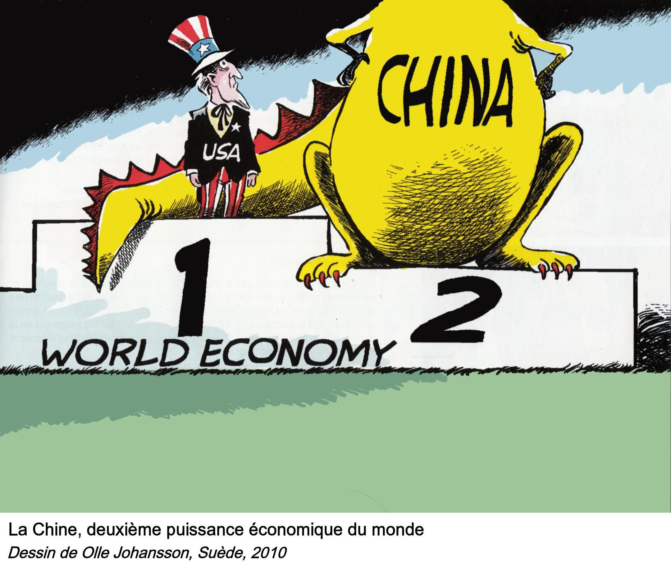 <stamp theme='his-green2'>Doc. 2</stamp> La puissance économique de la Chine