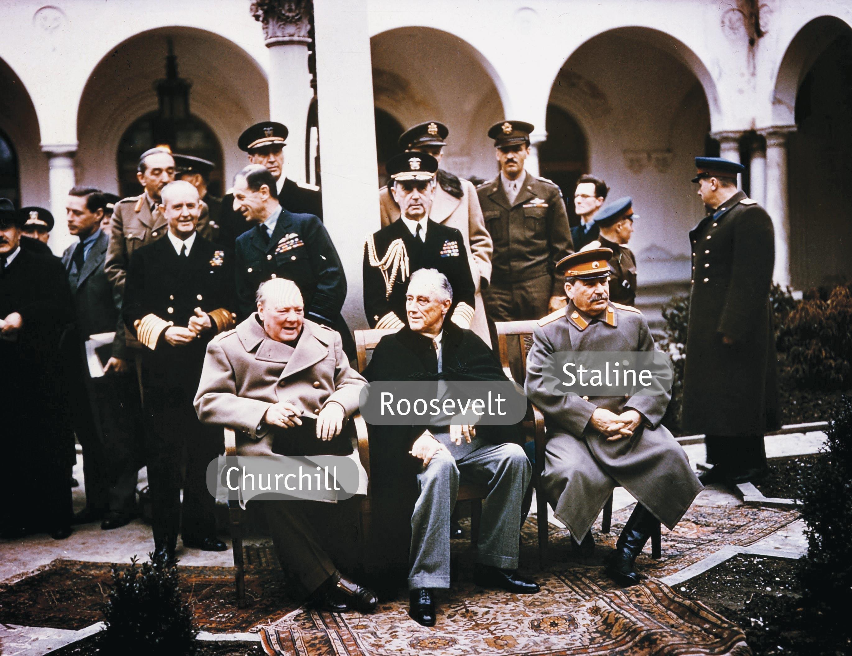 <stamp theme='his-green2'>Doc. 1</stamp> La conférence de Yalta