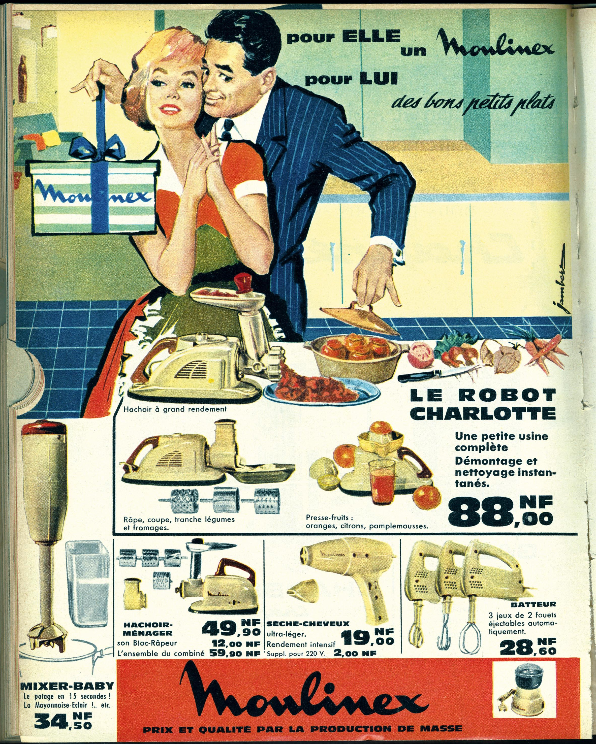 <stamp theme='his-green2'>Doc. 1</stamp> L'image de la femme et du couple, dans la publicité des années 1960