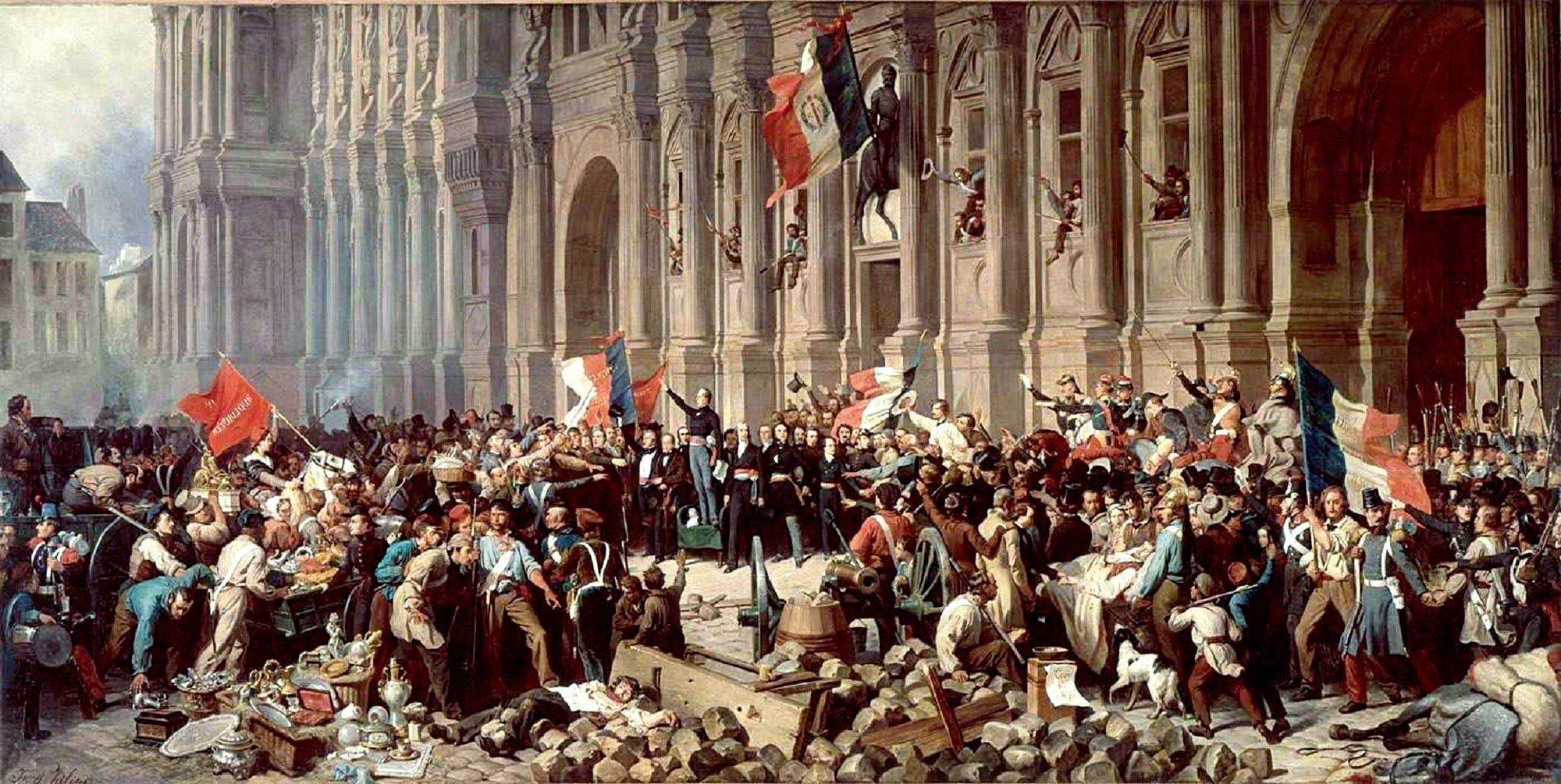 <stamp theme='his-green2'>Doc. 5</stamp> La révolution de février 1848 à Paris