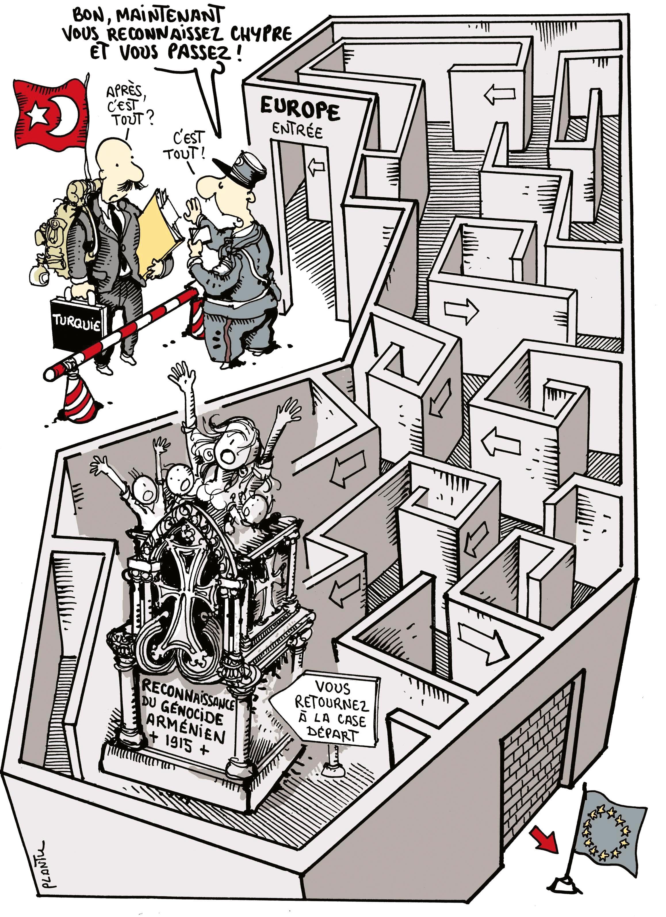 La question de l'adhésion de la Turquie