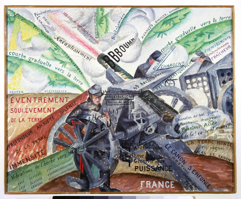 <stamp theme='his-green2'>Doc. 3</stamp> La violence et la guerre vues par le futurisme