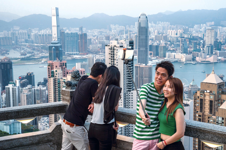 Un paysage urbain vertical qui attire les touristes