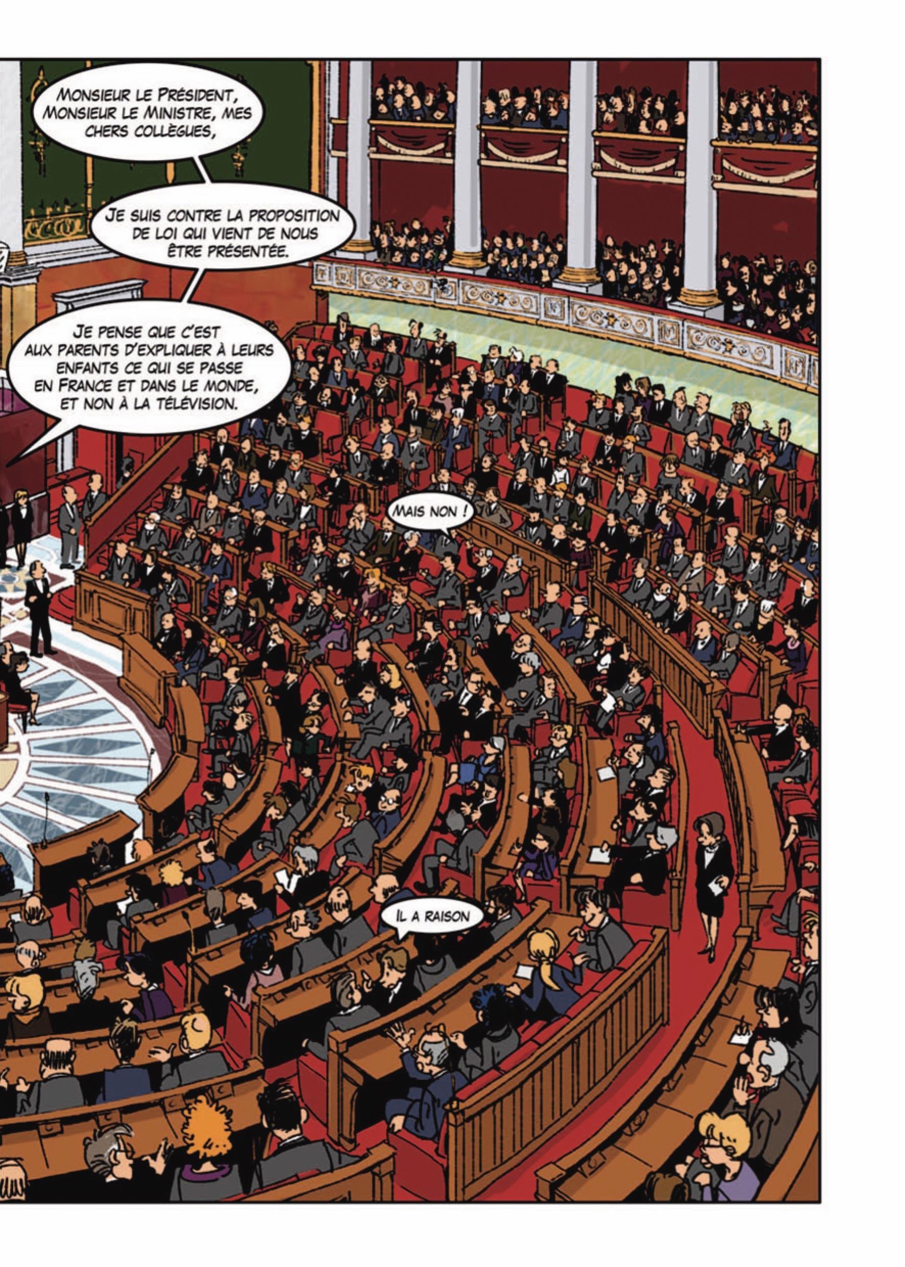 Le projet de la proposition de loi : 2