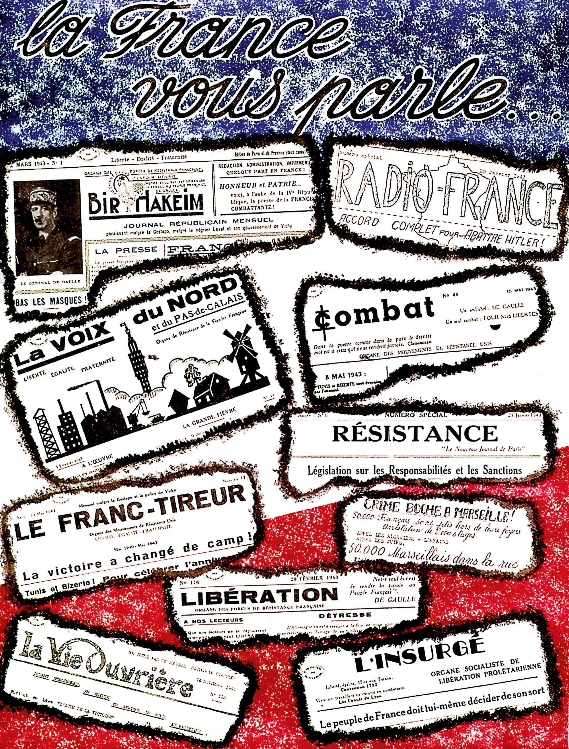 <stamp theme='his-green2'>Doc. 3</stamp> Les mouvements de la Résistance