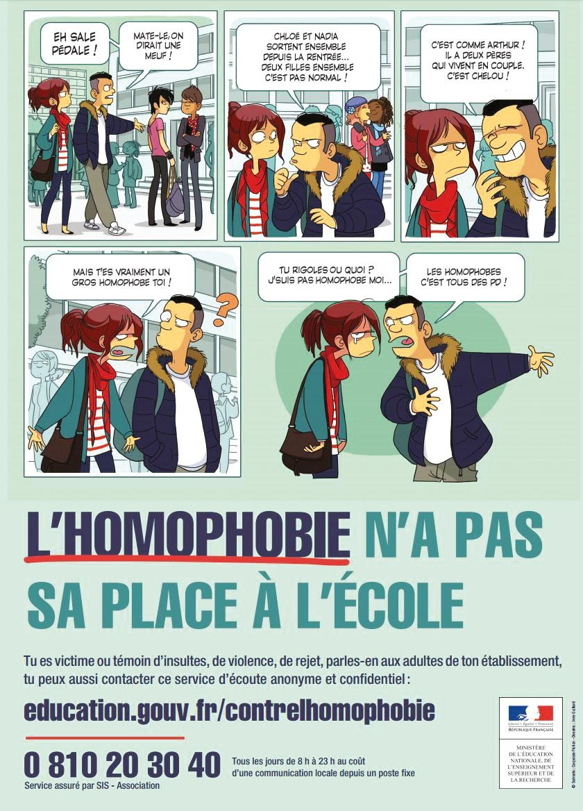 <stamp theme='his-green2'>Doc. 3</stamp> Une campagne contre l'homophobie