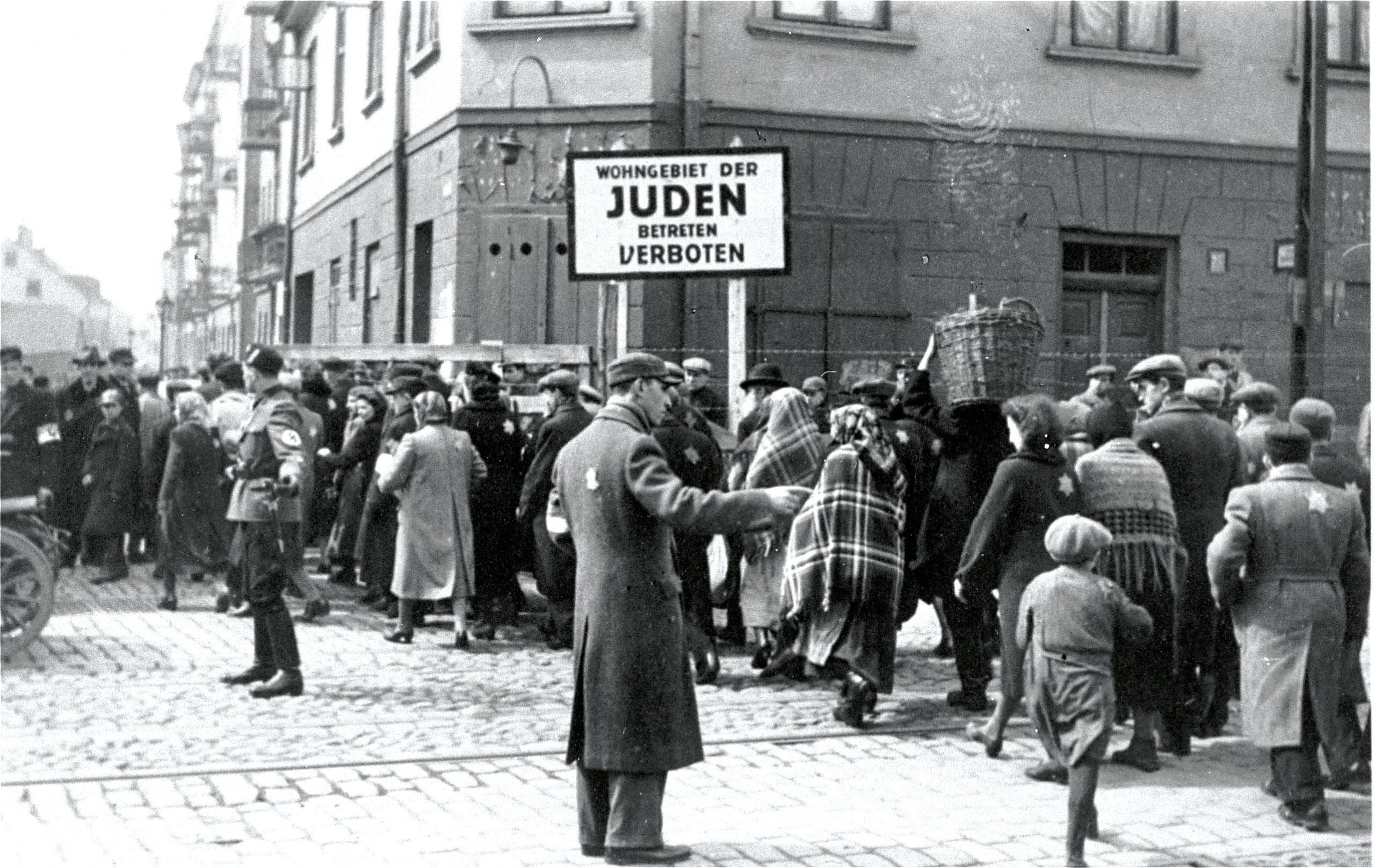 <stamp theme='his-green2'>Doc. 1</stamp> Le ghetto juif de Lodz en Pologne occupée (1940-1941)
