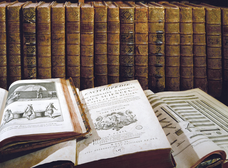 <stamp theme='his-green2'>Doc. 2</stamp> Les volumes de l'Encyclopédie