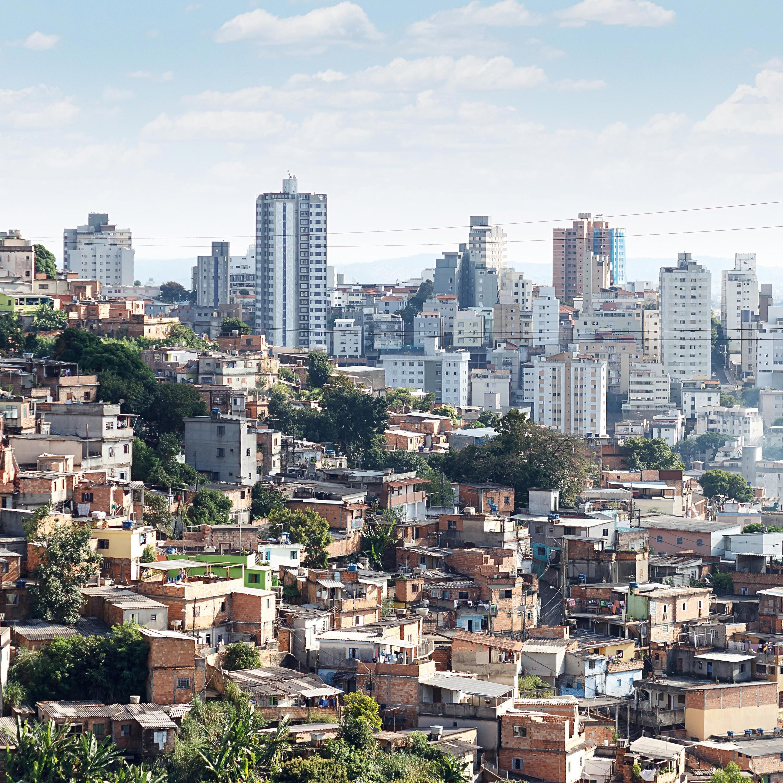 Les inégalités à Rio de Janeiro (Brésil).