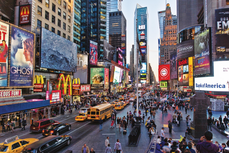 <stamp theme='his-green2'>Doc. 1</stamp> Times Square, un quartier emblématique de la mondialisation