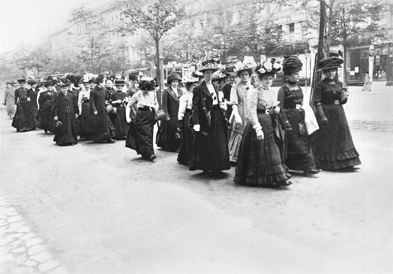 Une manifestation féministe