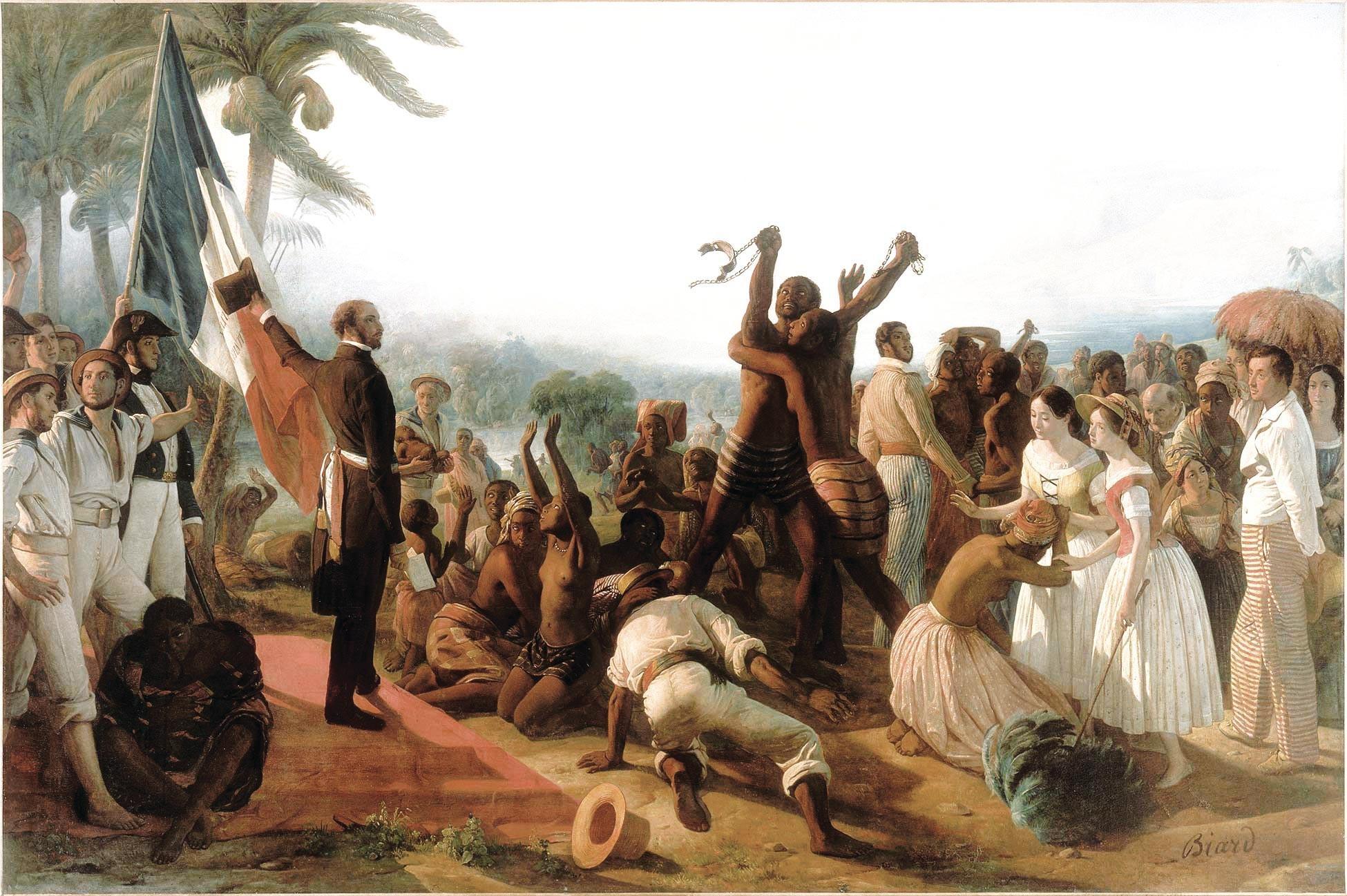La Deuxième République abolit l'esclavage (1848)