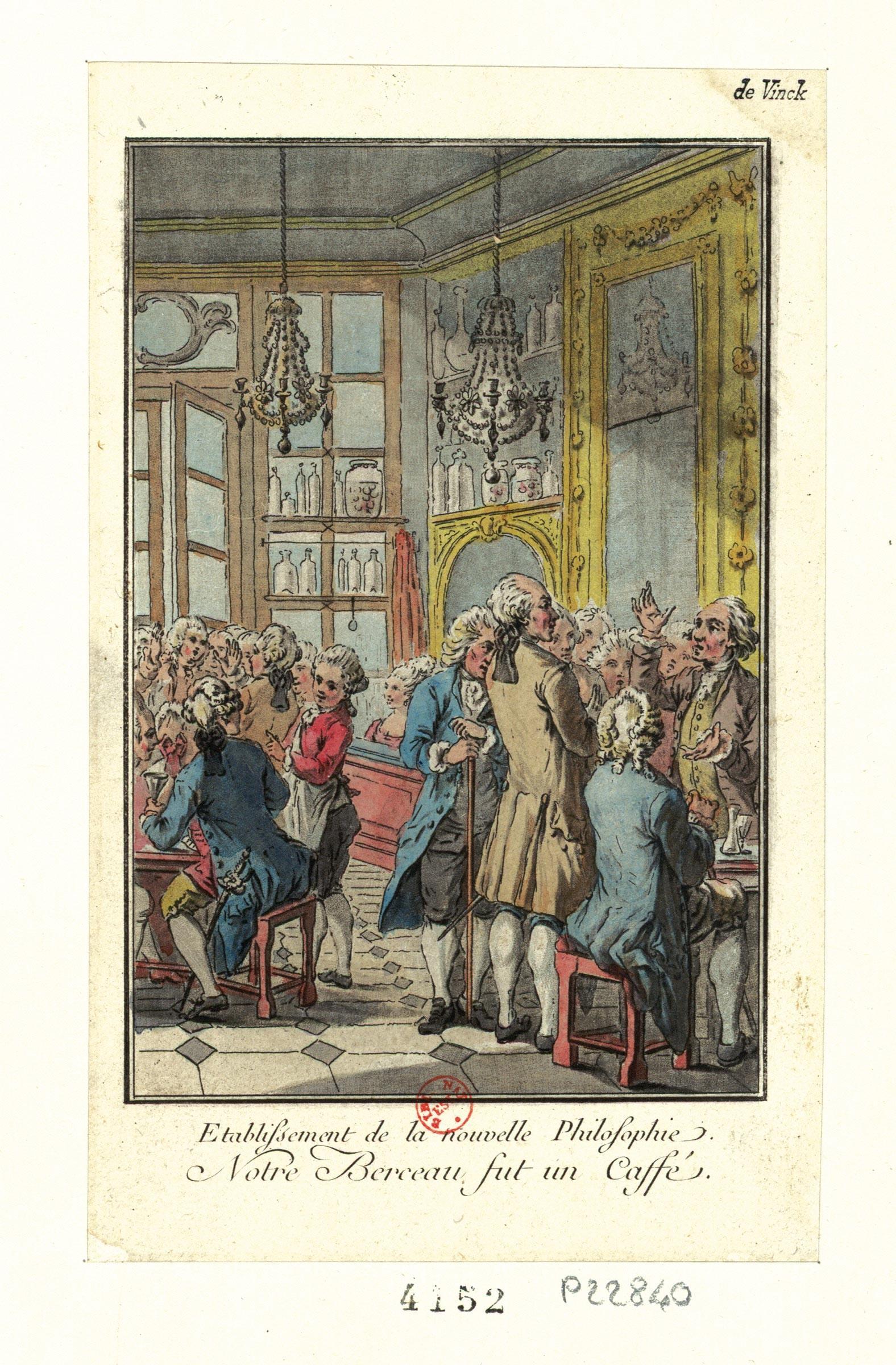 <stamp theme='his-green2'>Doc. 1</stamp> Un café parisien célèbre: le Procope