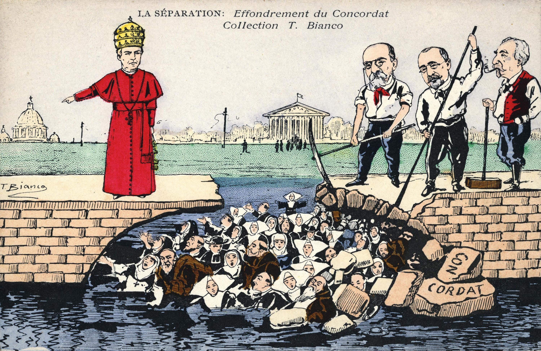 <stamp theme='his-green2'>Doc. 5</stamp> La rupture des relations entre la France et le Vatican
