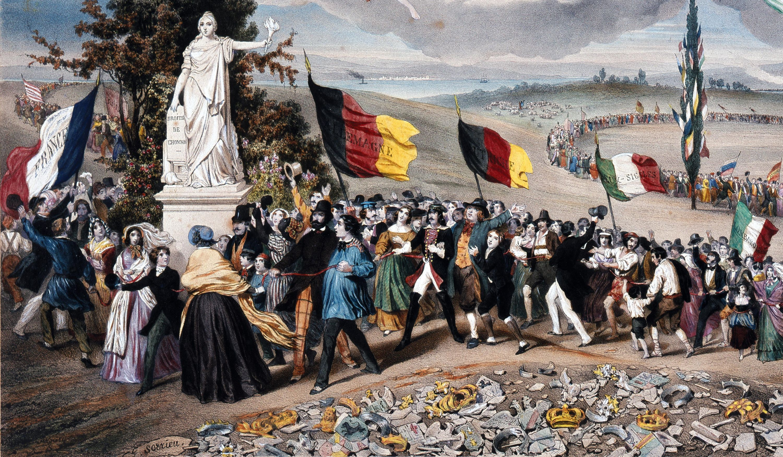 Le Printemps des peuples en Europe