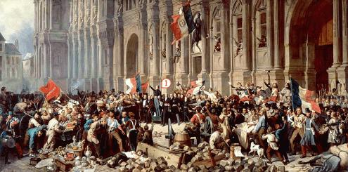 La révolution de février 1848 à Paris
