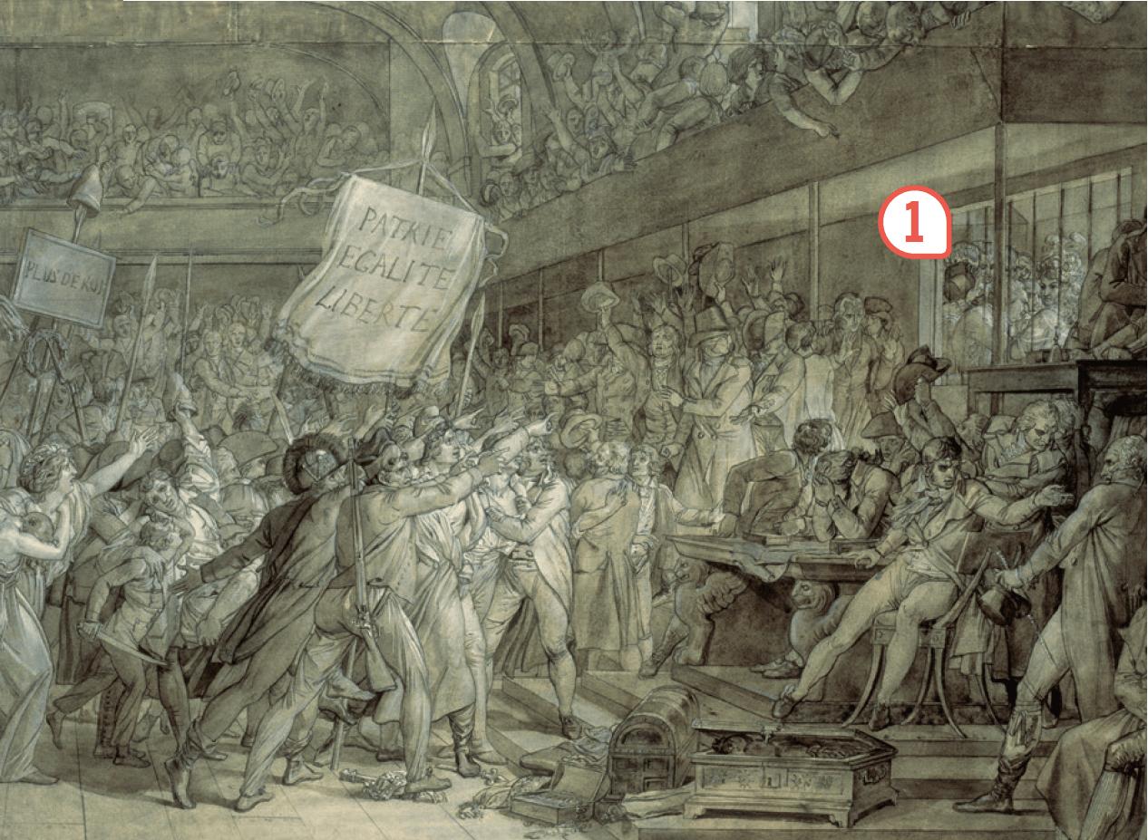 <stamp theme='his-green2'>Doc. 3</stamp> La prise des Tuileries, le 10 aout 1792
