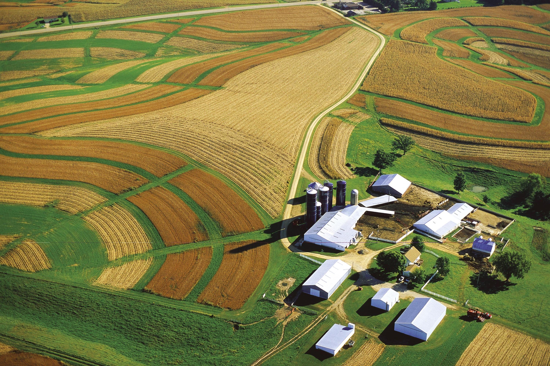 <stamp theme='his-green2'>Doc. 1</stamp> Une ferme dans le Wisconsin (États-Unis)