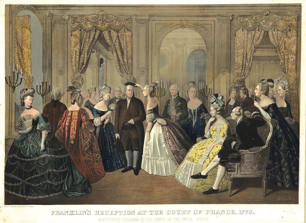 <stamp theme='his-green2'>Doc. 2</stamp> Benjamin Franklin, ambassadeur des États-Unis en France