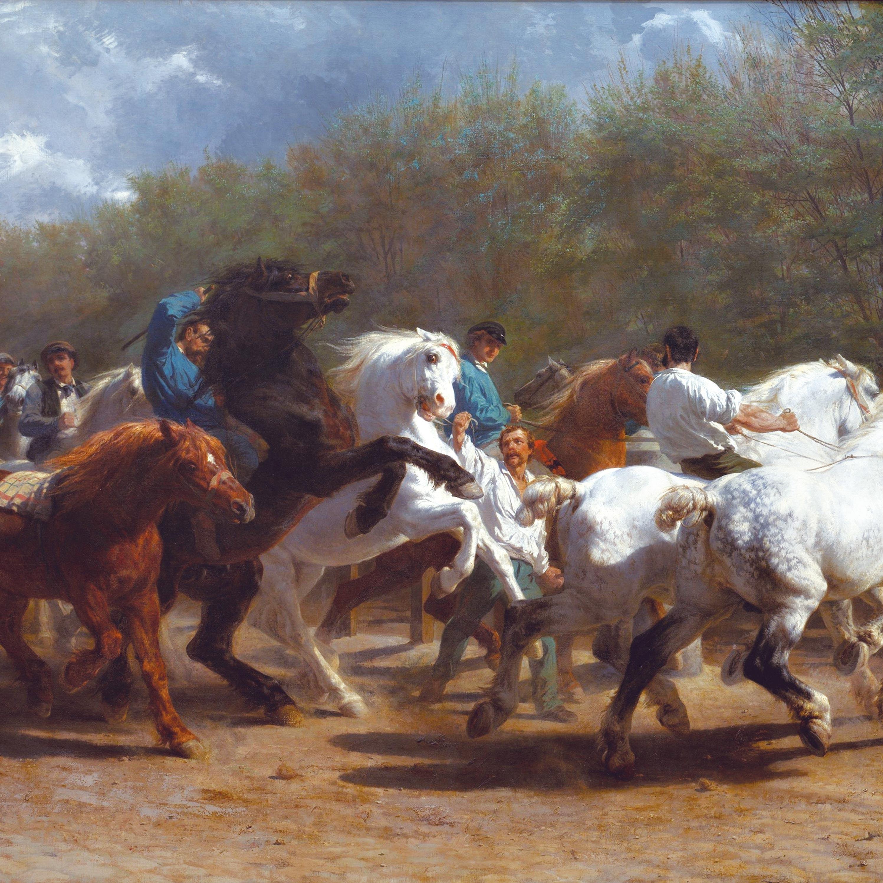 Rosa Bonheur, La foire du cheval, 1867