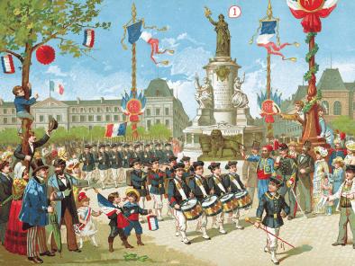 <stamp theme='his-green2'>Doc. 2</stamp> La fête du 14 juillet 1883, place de la République