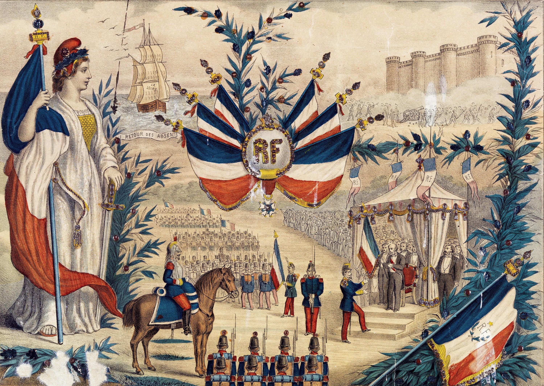 La République triomphante préside à la grande fête nationale du 14 juillet 1880