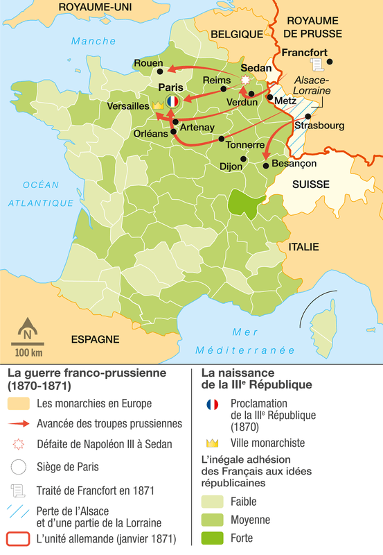 Les années 1870-1871