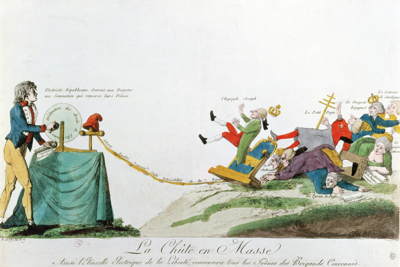 <stamp theme='his-green2'>Doc. 1</stamp> Le renversement des souverains absolus