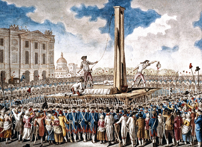 <stamp theme='his-green2'>Doc. 2</stamp> L'exécution de Louis XVI, le 21 janvier 1793 à Paris