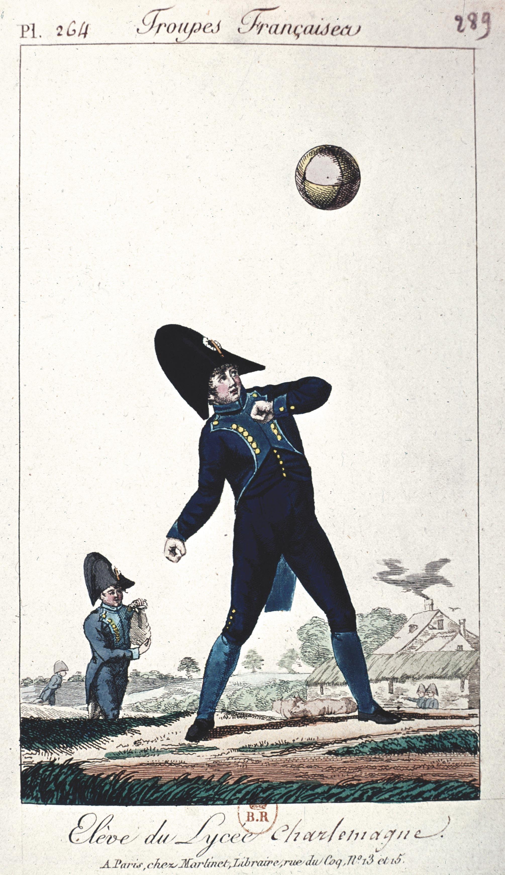<stamp theme='his-green2'>Doc. 4</stamp> Un lycéen sous Napoléon